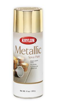 Krylon General Purpose Aerosol, Copper Metallic Finish Size: 12 oz aerosol can Color: Copper Chemical compound: Toluene, Copper Specific gravity: High performance Bright, durable finish Fast drying Indoor Use Only