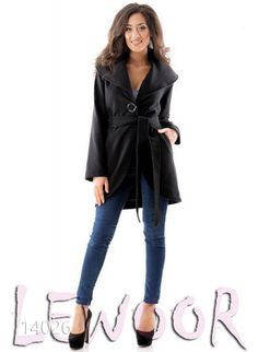 Пальто кашемировое короткое с косыми карманами - купить оптом и в розницу, интернет-магазин женской одежды lewoor.com