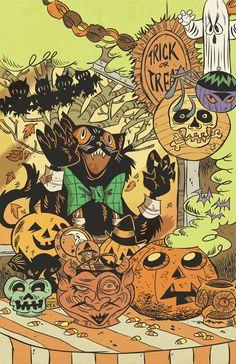 Halloween Hootenanny print