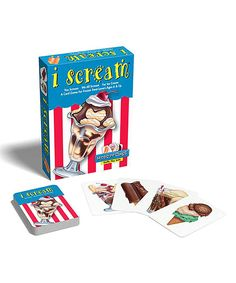 Look at this Madd Capp I Scream Card Game on #zulily today!