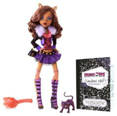 Amazon.com: Monster High Original Favorites Clawdeen Wolf Doll: Toys & Games