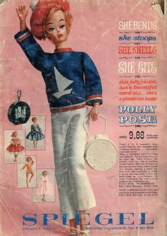 Polly Pose, 1962 Spiegel Christmas Catalog