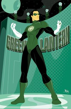 Green Lantern by Mike Mahle