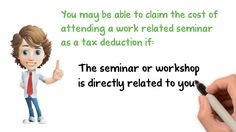 Deduction for Work Related Seminar