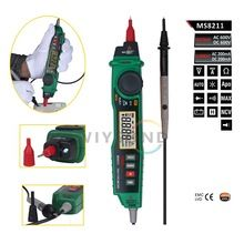 M071 MS8211 Pen type Digital Multimeter with NCV Detector Non contact DC / AC Voltage Current Meter Data Hold Multimeter(China (Mainland))