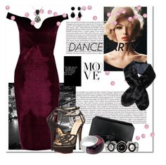 Dance Party_Party Fever by msmith801 on Polyvore featuring polyvore, fashion, style, Boohoo, Charlotte Olympia, Givenchy, XOXO and clothing