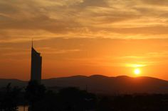 Sunset in Vienna Vienna, Beautiful Pictures, Celestial, Sunset, Outdoor, Glamour, Outdoors, Pretty Pictures, Sunsets