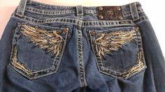 "#MissMe #Jeans Shorts Angel Wings Womens SZ 30 Bling 33"" Actual Waist http://www.ebay.com/itm/-/301754066063?roken=cUgayN&soutkn=FuZDtH #missmes #newshorts #clothes #shoppingtime"