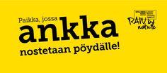 KVAK on paikka, jossa ankka nostetaan pöydälle! www.kvak.fi #kvak #Rawbynature #kotka