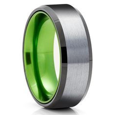 Green Tungsten Wedding Bands | Green Tungsten Wedding Rings – Page 2 – Clean Casting Jewelry Black Tungsten Rings, Tungsten Wedding Rings, Engraving Fonts, Laser Engraving, Custom Engraving, Green Rings, Black Rings, Tool Steel