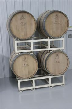 Barrels in Natchez Hills Winery