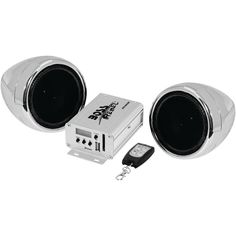 Boss Audio 600-watt Motorcycle And Atv Sound System With Fm Tuner & Bluetooth (silver)