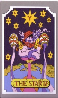Amazon.com: JoJo's Bizarre Adventure ABC tarot card THE STAR 17 ...