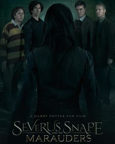Severus Snape and the Marauders Stop what you're doing and watch this!!