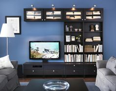 Combine open and closed storage. BESTÅ allows you to hide or display your things according to your needs.