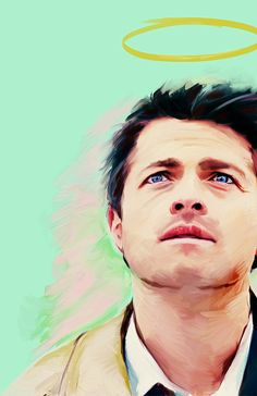 Supernatural Art Castiel Art Supernatural by WaywardDaughterCo