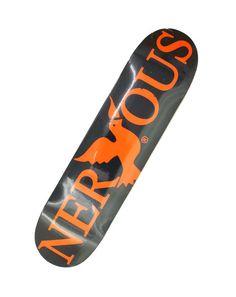 Deck NERVOUS  #skateboard #nervous