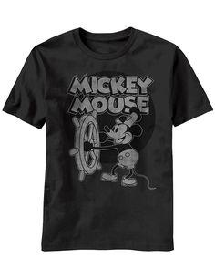 27c5c891b4b Amazon.com  Mickey Mouse Steamboat Willie T-Shirt