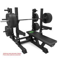 Das Bench press Rack System V2 aus der ATX® Serie wurde speziell für den professionellen Athleten konzipert und ist ideal für den Einsatz in Studios. Die schwer belastbare Rahmenkonstruktion ist mit einer hohen Standfestigkeit versehen. Die Gesamtbelastbarkeit liegt bei 800 KG. #atxpower #atx #Benchpress http://www.megafitness-shop.info/Kraftsport/Kraftgeraete-nach-Marken/ATX/ATX-Bench-Press-Rack-System-V2--3726.html