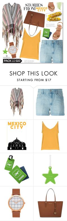 """""""Pack and Go: Mexico City"""" by mada-malureanu ❤ liked on Polyvore featuring Figue, Étoile Isabel Marant, Glamorous, TravelSmith, MICHAEL Michael Kors, Álvaro González, Packandgo and christianpaul"""