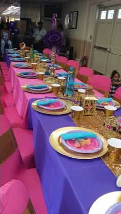 Shimmer and shine party by flora