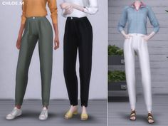 ChloeM-Overall for The Sims 4