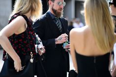 http://chicerman.com  billy-george:  J.OShea looking as sharp as ever.  Sydney Fashion Week  Photo by Adam Katz Sinding  #streetstyleformen