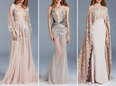 Paolo Sebastian spring 2015 couture - looking glass