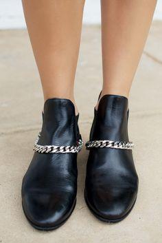 Chain Harness Boots by Geneva Vanderzeil