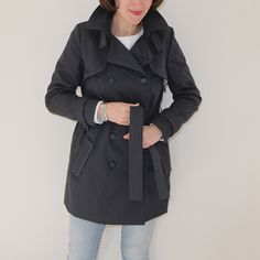 Trench Coat Isla de Named Pattern