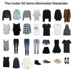 Creating a minimal wardrobe is super trendy right now and I totally get the hype. By creating a smaller wardrobe, you save space, time, and money. You can invest in pieces that you love and start s…