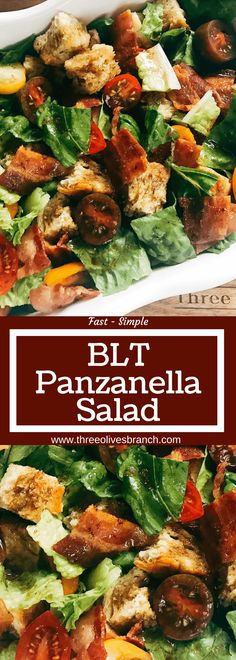 A simple side dish perfect for any BBQ event, grill out, or party like the 4th of July, Father's Day, Memorial Day, or Labor Day. The classic flavors of a BLT sandwich are combined with a classic Ital (Blt Sandwich Recipes)