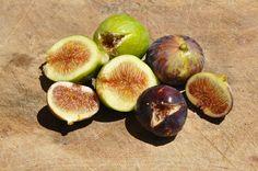 Very juicy figs.