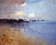 Ken Knight   Afternoon on the Bay, St. Kilda