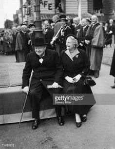 News Photo : Former British Prime Minister Sir Winston...