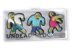 Amazon.com - Undead Fred Zombie Shaped Cookie Cutters Novelty Kitchen Bakeware -