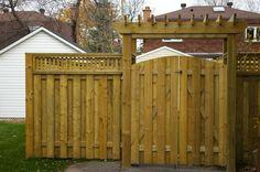 Garden Fences And Gates Ideas   Proscapedecks com fences Proscapedecks com fences