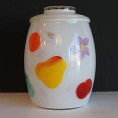 1950's Cookie Jars Inspiration Vintage 1950's Gay Fad Barlett Collins Rooster Cookie Jar Canister Decorating Design