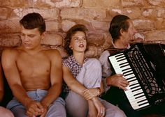"""Patrick Wayne, Natalie Wood and Danny Borzage on break during """"The Searchers."""" Monument Valley, Arizona-Utah, Notes from John R. Hamilton: """"While filming 'The Searchers' Natalie Wood and John. Natalie Wood, Classic Hollywood, Old Hollywood, Hollywood Glamour, Hollywood Stars, John Wayne Son, Patrick Wayne, Miracle On 34th Street, The Searchers"""