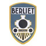Plaque publicitaire métal Automobiles Berliet
