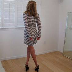 Silk sheer DVF wrap dress. Easy and Lovely. Silk breezy and so easy. Diane von Furstenberg Dresses
