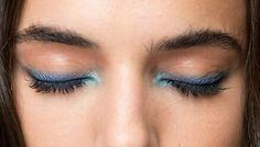 #makeup#beauty#fashion#blue#eyeliner