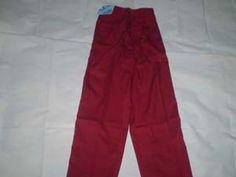 Celana Panjang Seragam Sekolah Harian Warna = Merah Ukuran 24  Lingkar Pinggang = 46 cm,berkaret molor Panjang = 75 cm  Bahan = Drill http://tokoyuan.com/seragam-laki/celana-panjang-sd-no-24/