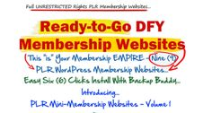 9 WordPress Membership Sites for ONLY $10 bucks, WoW!