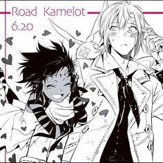 D. Gray man: Road Kamelot & Allen Walker
