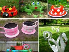 Tire Planter Ideas For Your Garden | The WHOot
