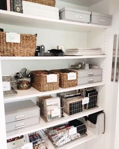 Closet Office, Home Office Space, Home Office Design, Home Office Decor, Home Decor, Office Cubicle, Office Organization At Work, Home Office Organization, Home Office Storage
