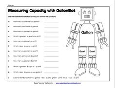 Measuring Capacity with GallonBot (W13)