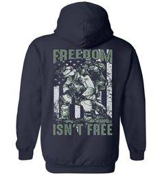 694a40f1 Items similar to Veteran Hoodie Freedom Isn't Free Veteran Gifts / Freedom  Flag Gift / Freedom Shirt / Military Hoodie Military Pride Proud Veteran  American ...