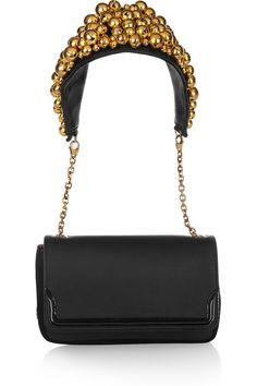 Christian Louboutin Artemis bell embellished shoulder bag 1